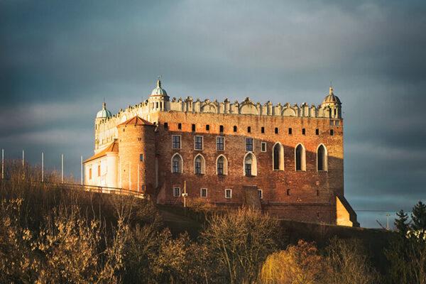 zamek golubski