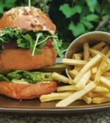 serowy burger